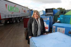 pix paul lewis; emma elston of uk container maintenance in cheshire