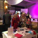 Exhibitors showcase their products and services at Women's Entrepreneurship Day