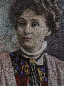 Emmeline Pankhurst, founder of the Suffragette Movement