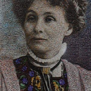 Emmeline Pankhurst, founder of the Suffragette Movement