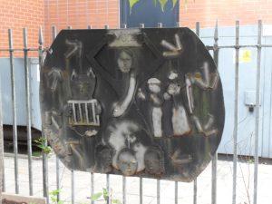 Suffragette Garden Art at the Pankhurst Museum