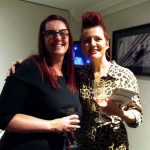 Amanda Munden of Moo Style and Claire Jamieson Blackpool and The Fylde College