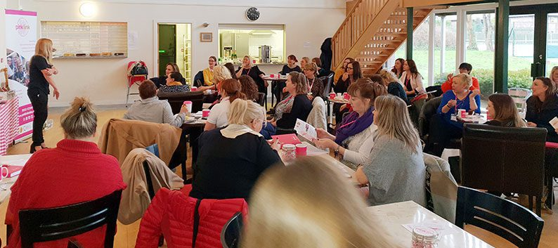 Pink Link networking meetings connect women in business