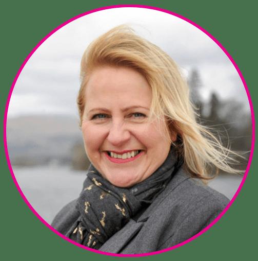 Alison Magee-Barker of AJ Lakes Pink Link Ambassador