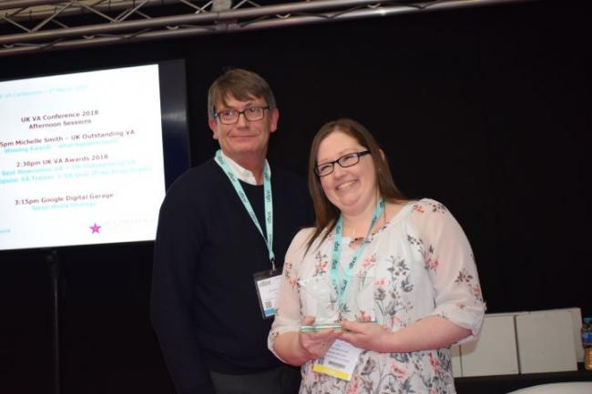 UK Outstanding Virtual Assistant Award 2018