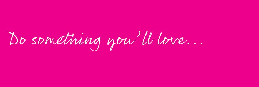 Do something you love run a Pink Link Ladies network for women in business