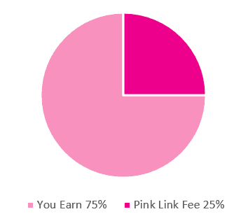 Pink Link Ladies network facilitators can earn whilst they work