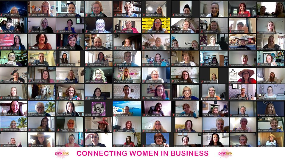 Pink Link Ladies connects women in business through networking and events