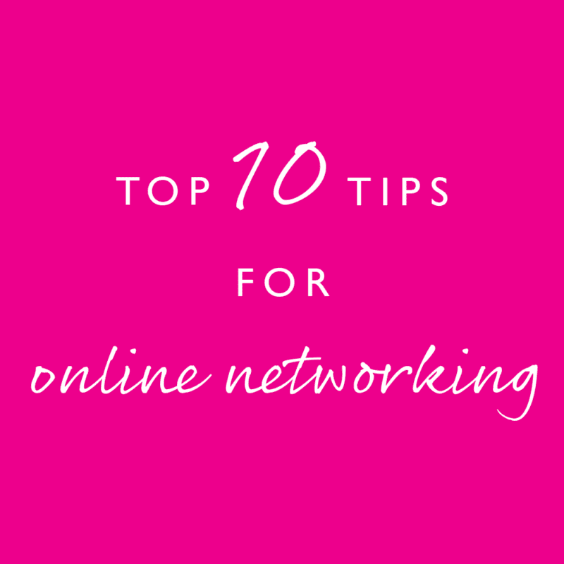 Pink Link Blog Top-10-Tips-for-Online-Networking