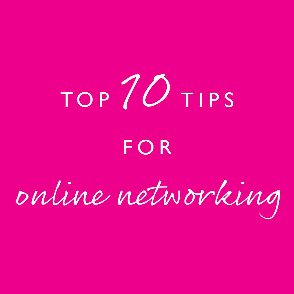 Pink Link Blog Top-10-Tips-for-Online-Networking