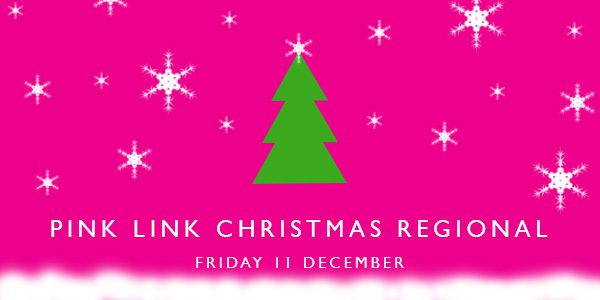 Pink-Link-Christmas-Regional Event - networking for women in business