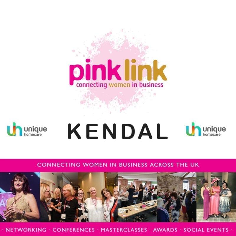 Unique Homecare sponsors Pink Link Ladies Kendal