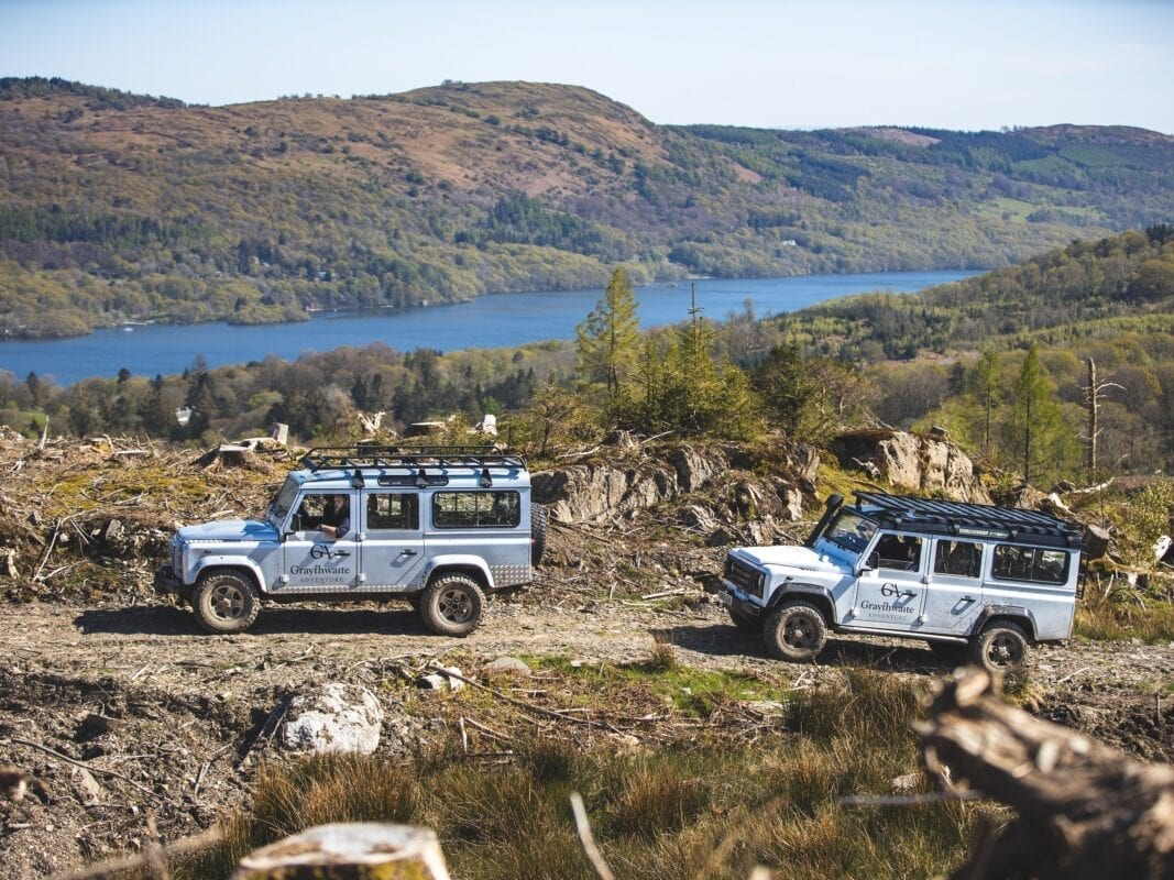 Off-road adventures with stunning views
