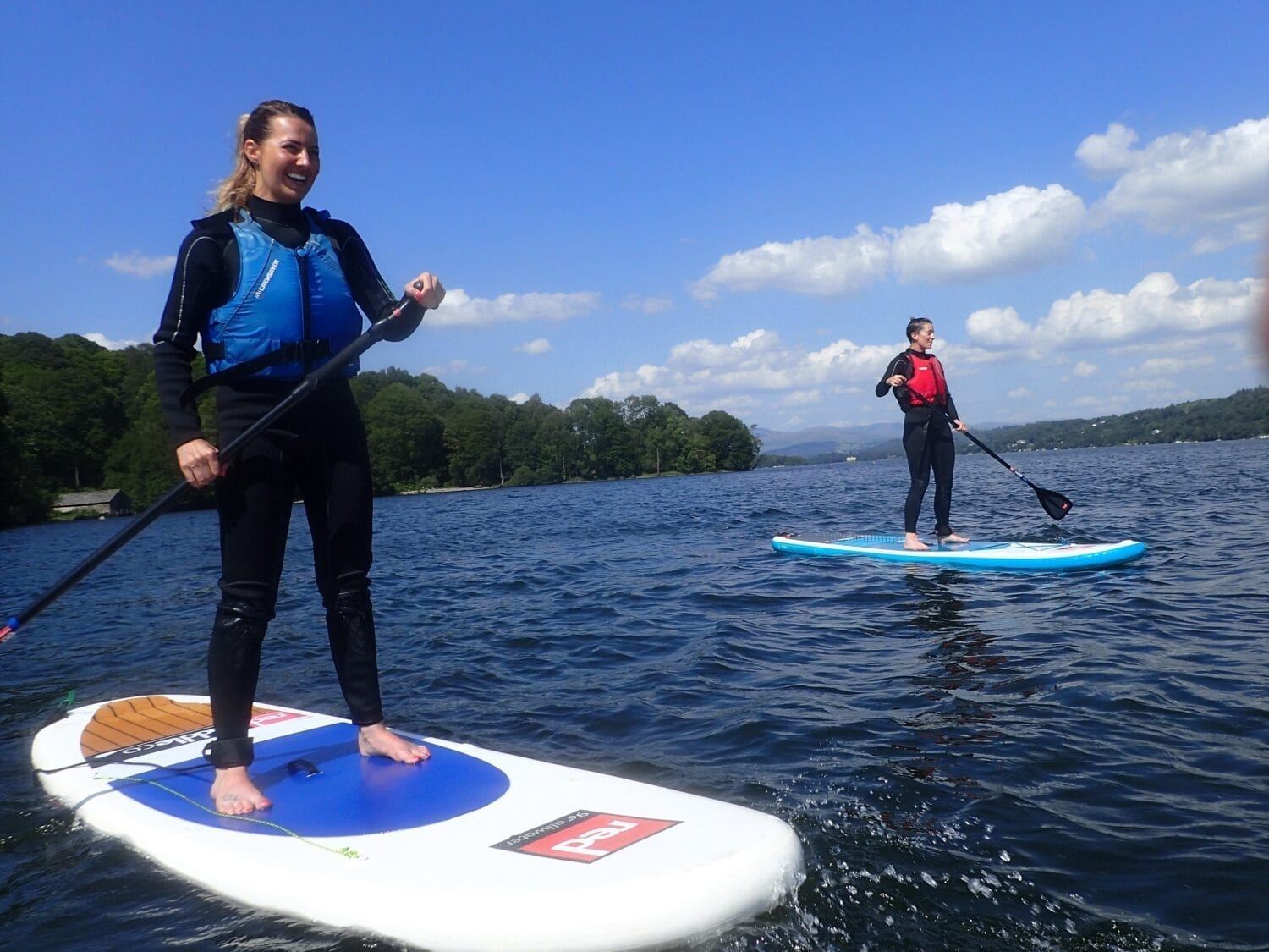 Stand up paddleboarding is a must!
