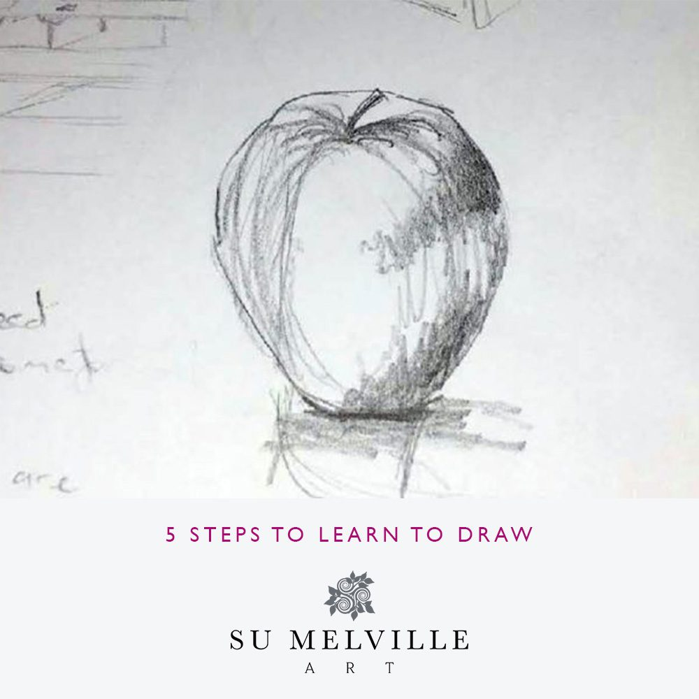 Pink-Link-Member-Blog-Su-Melville-Art-5-Steps-To-Learn-To-Draw