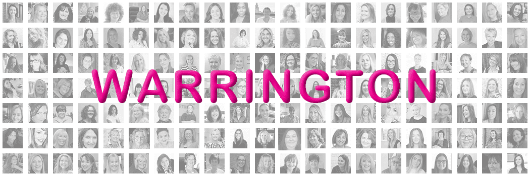 Pink Link Ladies Networking For Women in Business Banner Warrington