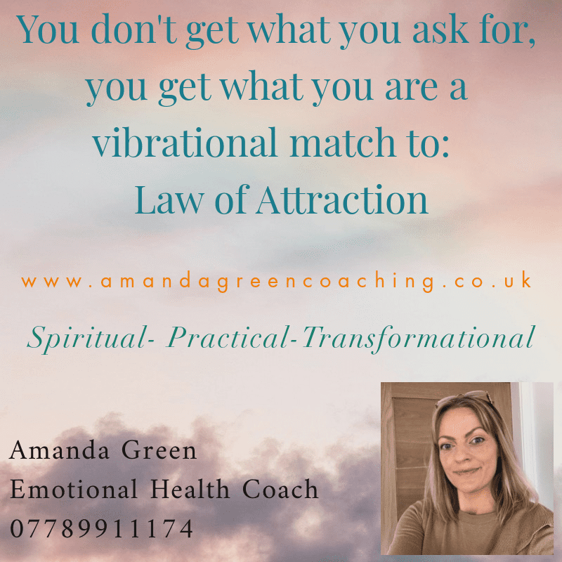Pink Link Member Blog Amanda Green Coaching Law of Attraction