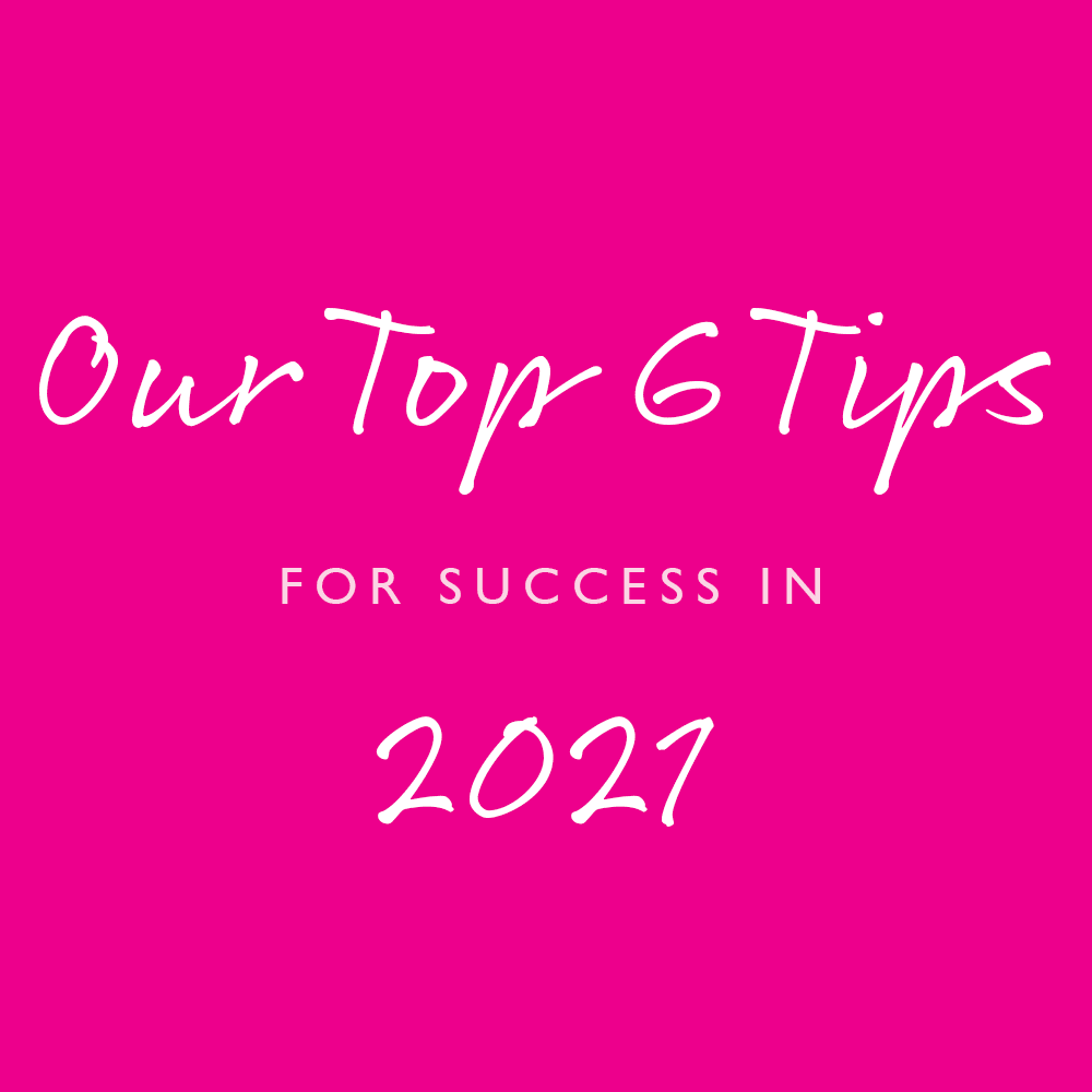 Pink-Link-Ladies-Business-Networking-Blog Top 6 Tips for Success in 2021