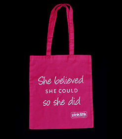 Pink Link Ladies She Believed She Could So She Did Shopper