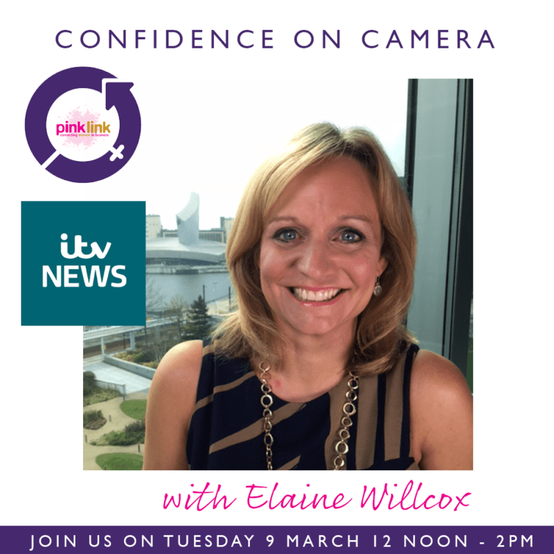 Pink-Link-Ladies-Business-Networking-ITV Confidence on Camera with Elaine Willcox