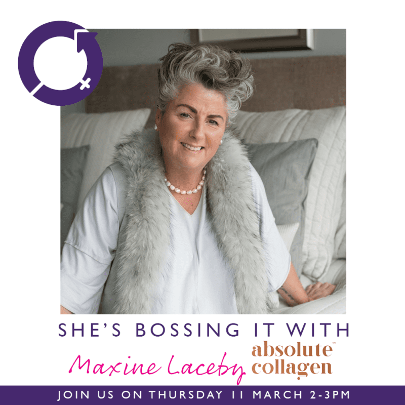 Pink-Link-Ladies-Business-Networking-Shes Bossing It with Maxine Laceby of Absolute Collagen