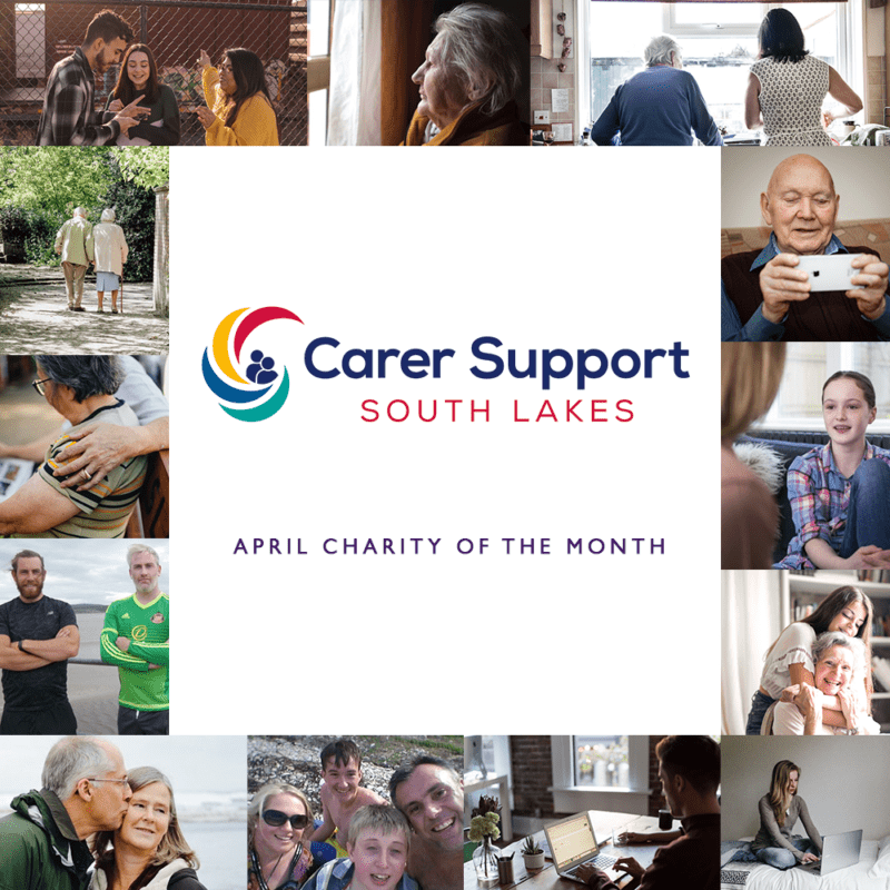 Carer Support South Lakes Pink Link Ladies April charity of the month