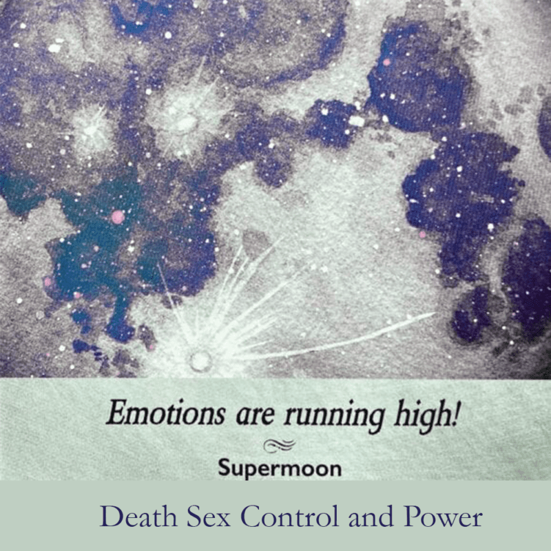 Death Sex Control and Power by Amanda Green Emotional Health Coach