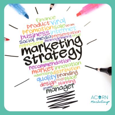 Acorn Marketing Tip Creating a Marketing Strategy