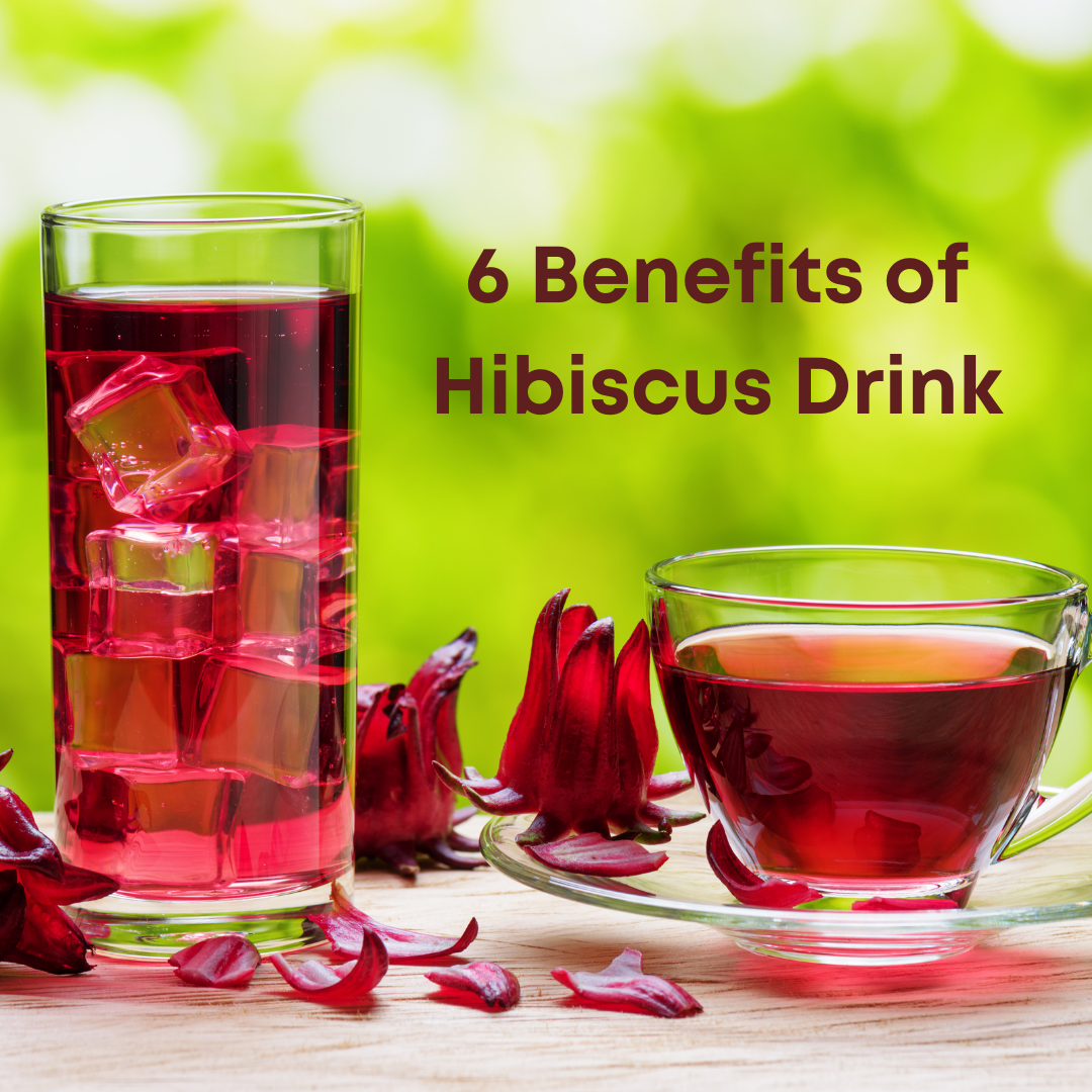 The Hibiscus flower drink is brewed in hot water and allowed to cool to make a herbal beverage. As well as its many health benefits, drinking Hibiscus drink or tea can also reduce blood pressure, fight bacteria and aid in weight loss.