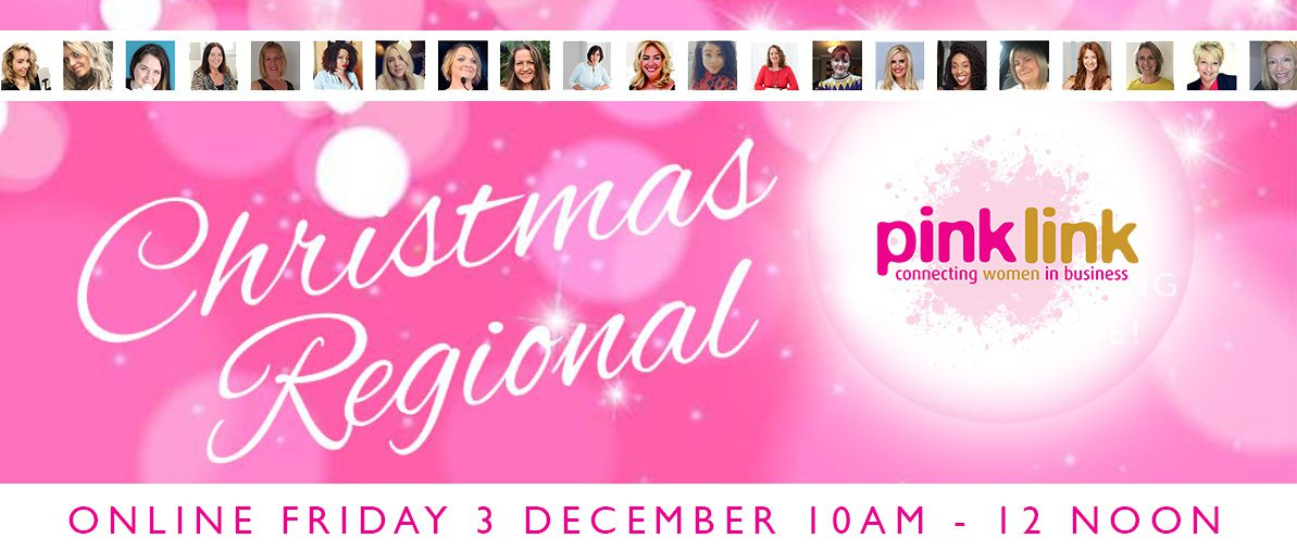 Online Pink Link Christmas Regiona connecting women in business across the UK